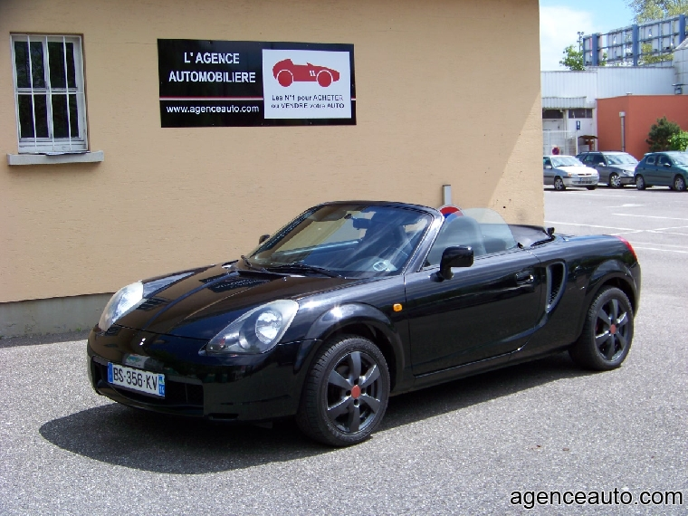 toyota mr2 roadster 1 8 vvt i 16v occasion mulhouse pas cher voiture occasion haut rhin 68390. Black Bedroom Furniture Sets. Home Design Ideas