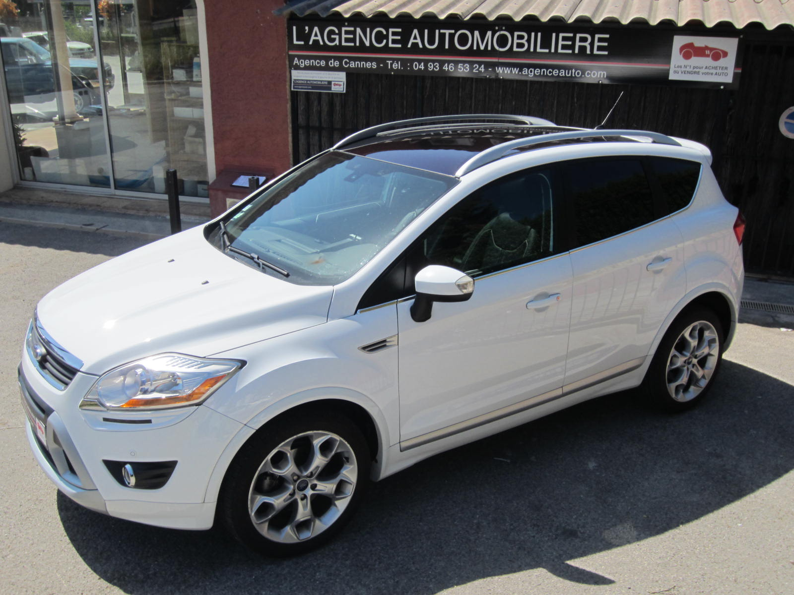 ford kuga 2 0 tdci 163 4x4 individual occasion cannes pas. Black Bedroom Furniture Sets. Home Design Ideas