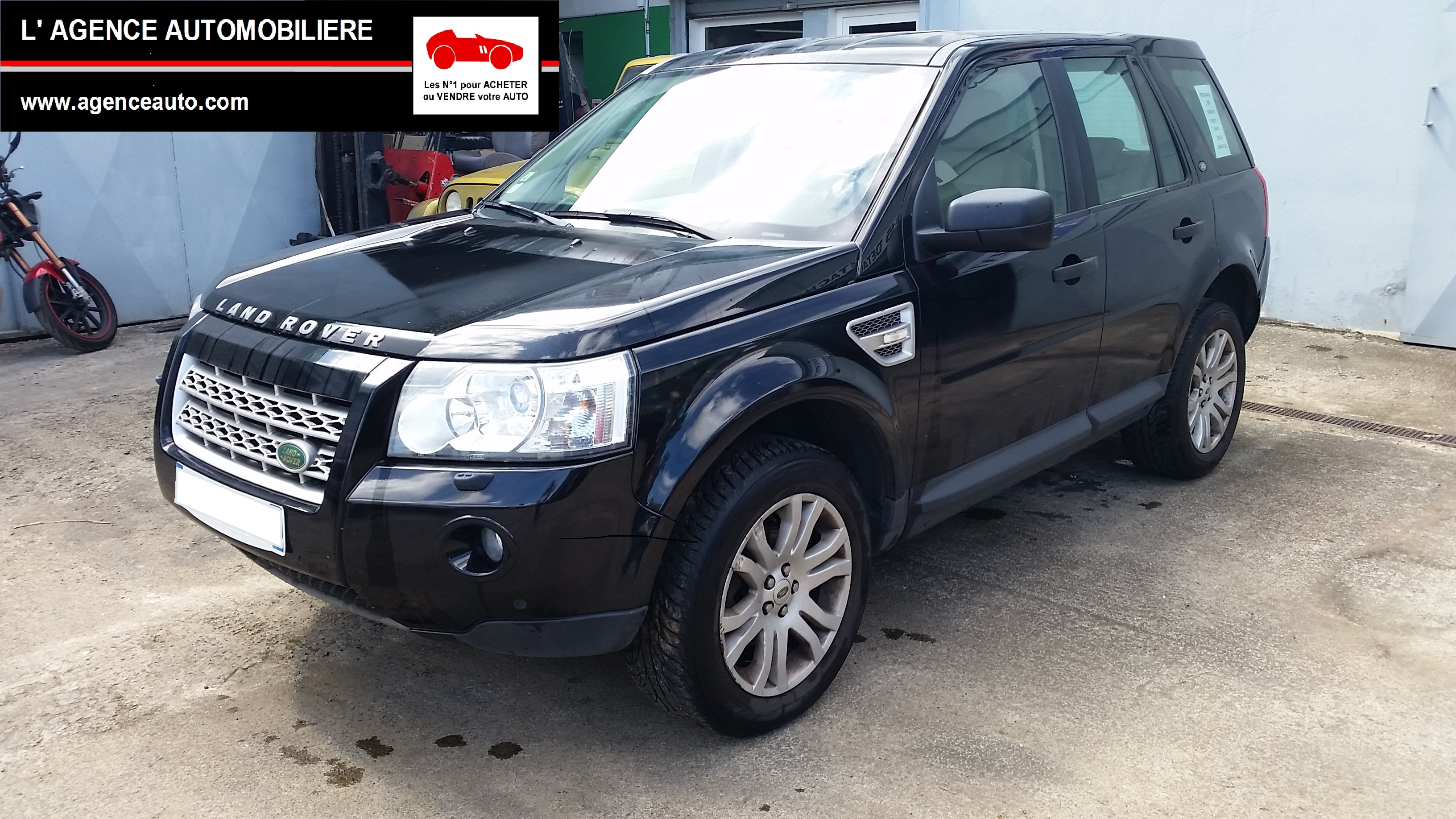 land rover freelander 2 tdi 160 hse bva 5 portes occasion. Black Bedroom Furniture Sets. Home Design Ideas