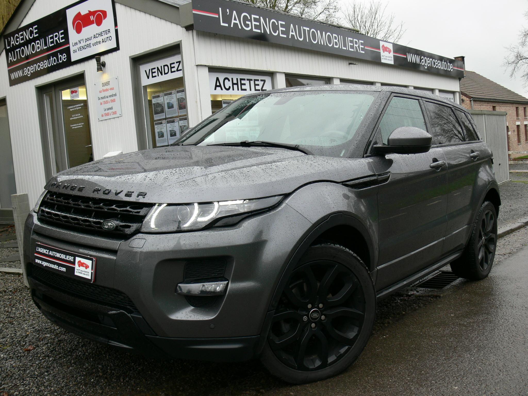 land rover evoque 2 2 td4 4wd dynamic black edition auto. Black Bedroom Furniture Sets. Home Design Ideas