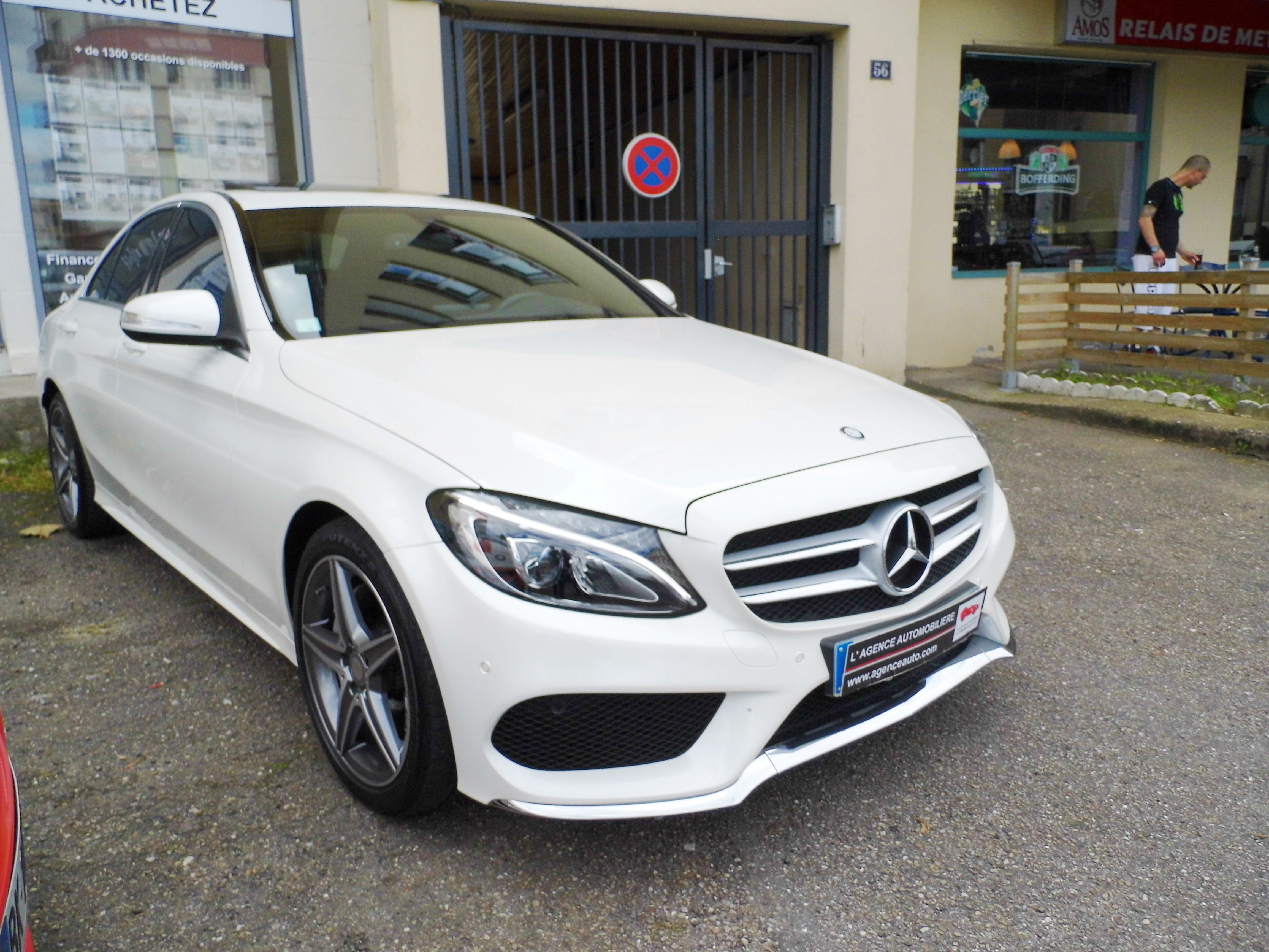 Mercedes Classe C 180 Pack Amg Occasion Metz Pas Cher Voiture