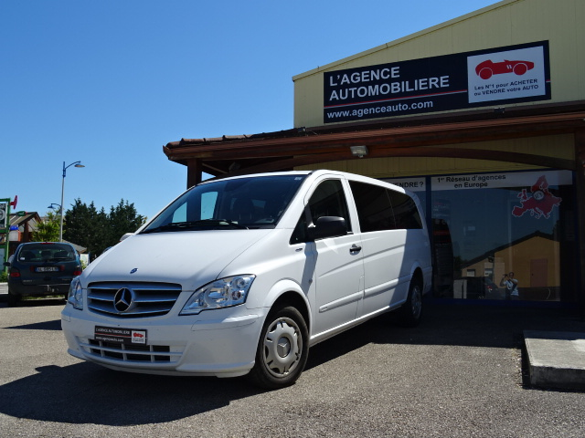 mercedes vito 116 cdi 163 extra long 9 places occasion. Black Bedroom Furniture Sets. Home Design Ideas