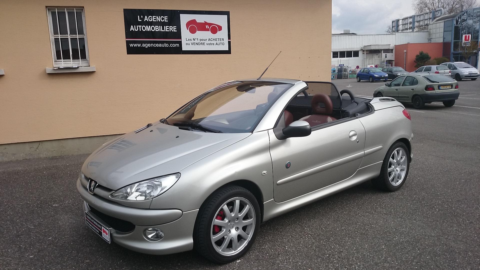 Peugeot 206 cc 1.6 HDi 110 Roland Garros occasion Mulhouse pas cher ...