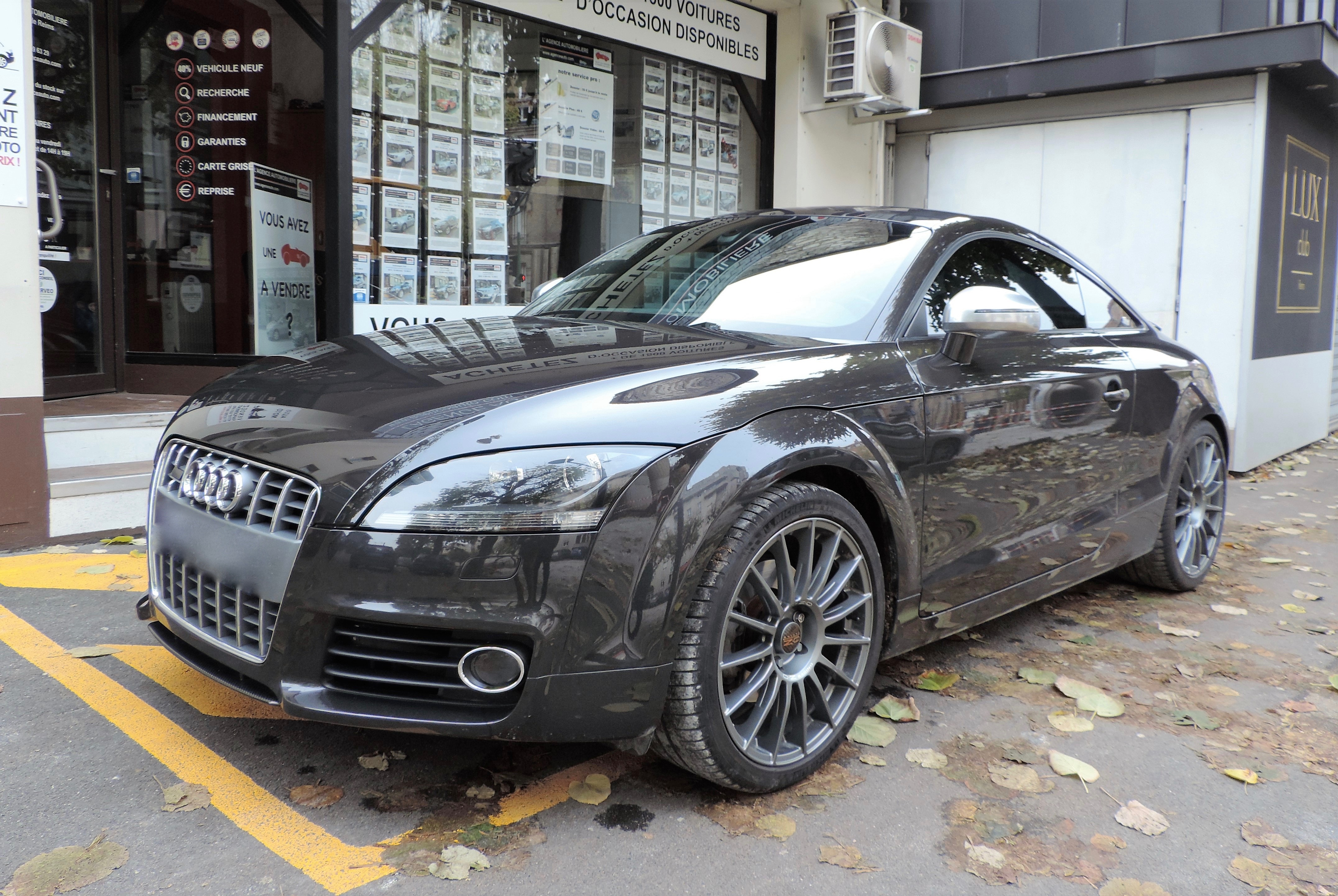 audi tt mk2 coup phase ii 1 8 tfsi 160cv bv6 pack s line auto usado reims asequible auto usado. Black Bedroom Furniture Sets. Home Design Ideas