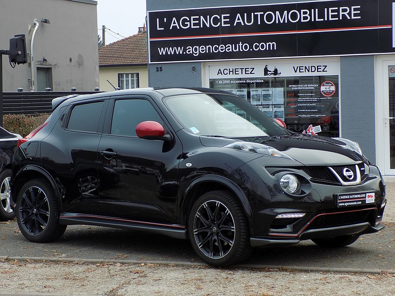 nissan juke 1 6 turbo 200 cv nismo occasion montbeliard pas cher voiture occasion doubs 25400. Black Bedroom Furniture Sets. Home Design Ideas