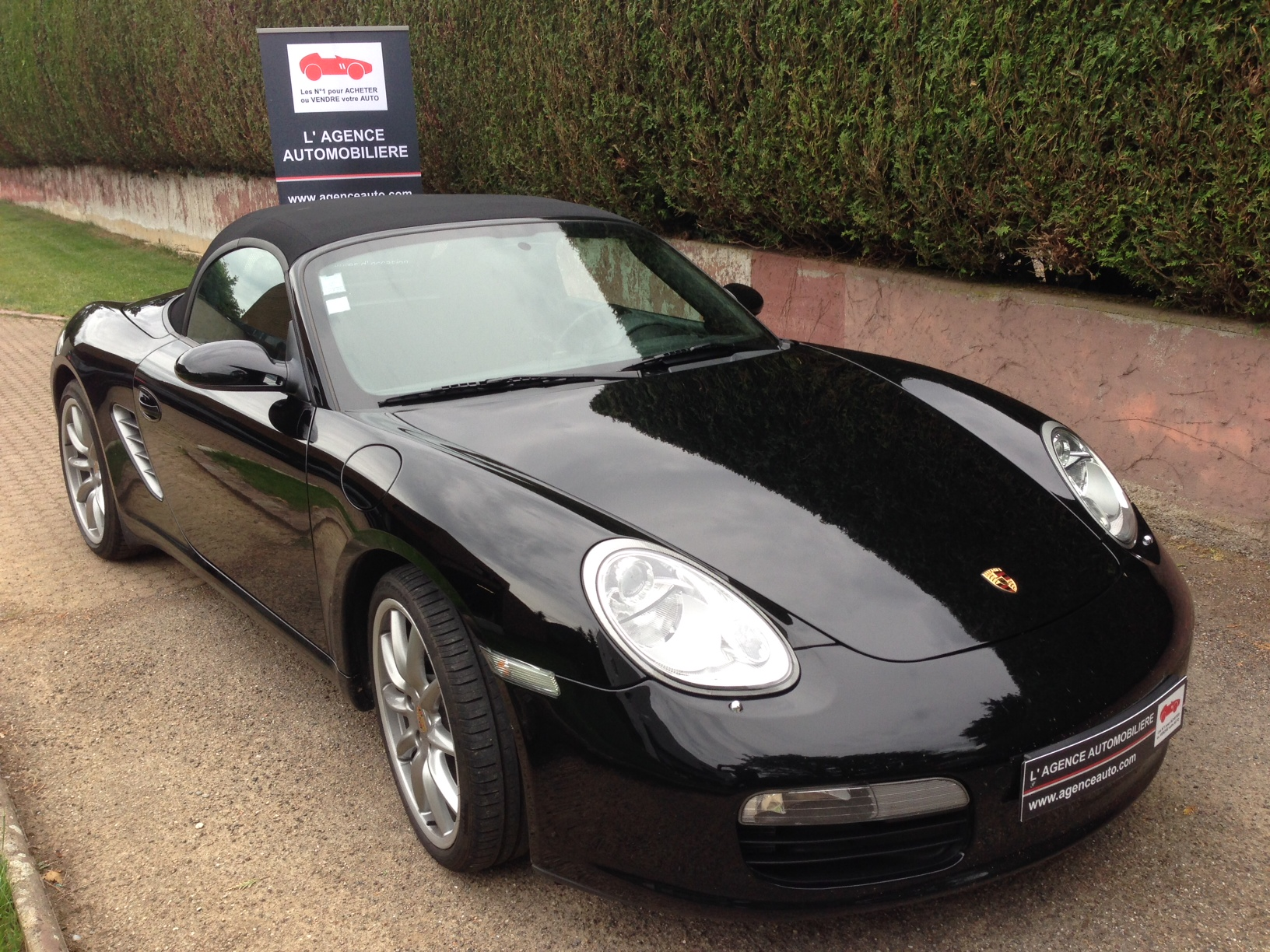 porsche boxster 2 7 987 phase ii occasion mulhouse pas cher voiture occasion haut rhin 68390. Black Bedroom Furniture Sets. Home Design Ideas