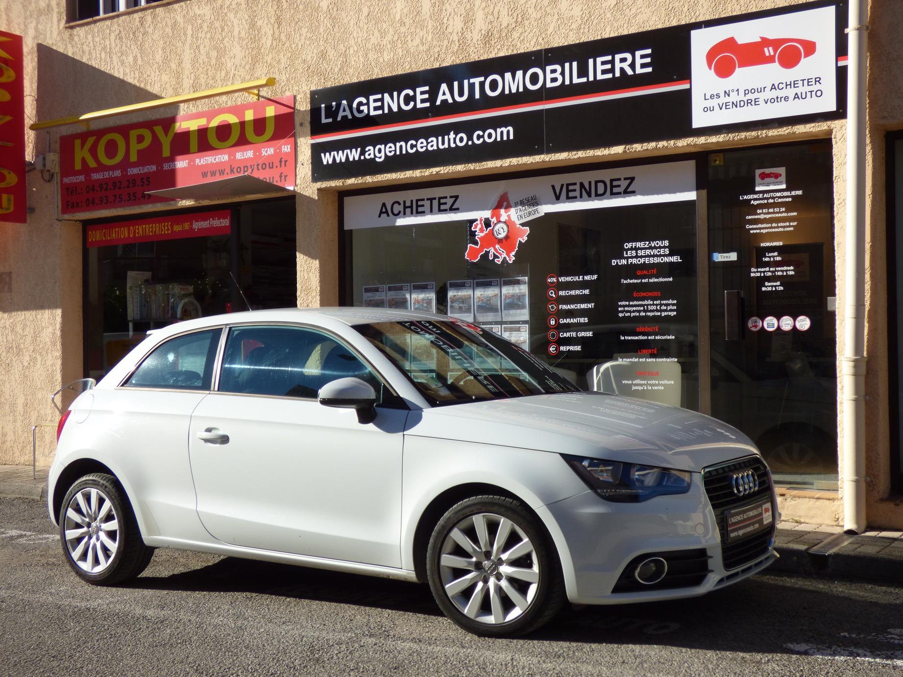 Audi A1 1 4 Tdi 90 Ambition Boite Auto Occasion Cannes Pas Cher