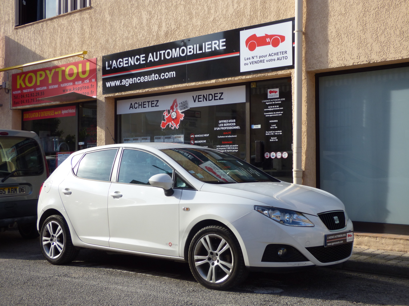 seat ibiza 1 6 tdi 90 fap style copa occasion cannes pas cher voiture occasion alpes maritimes. Black Bedroom Furniture Sets. Home Design Ideas