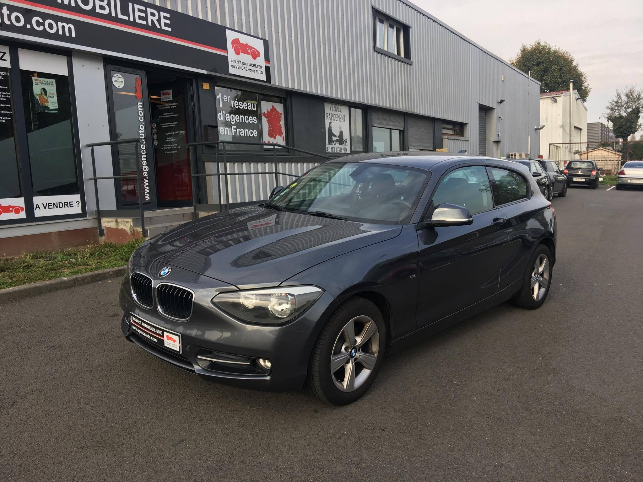 bmw serie 1 118d sport occasion lille englos pas cher voiture occasion nord 59160 agence auto. Black Bedroom Furniture Sets. Home Design Ideas