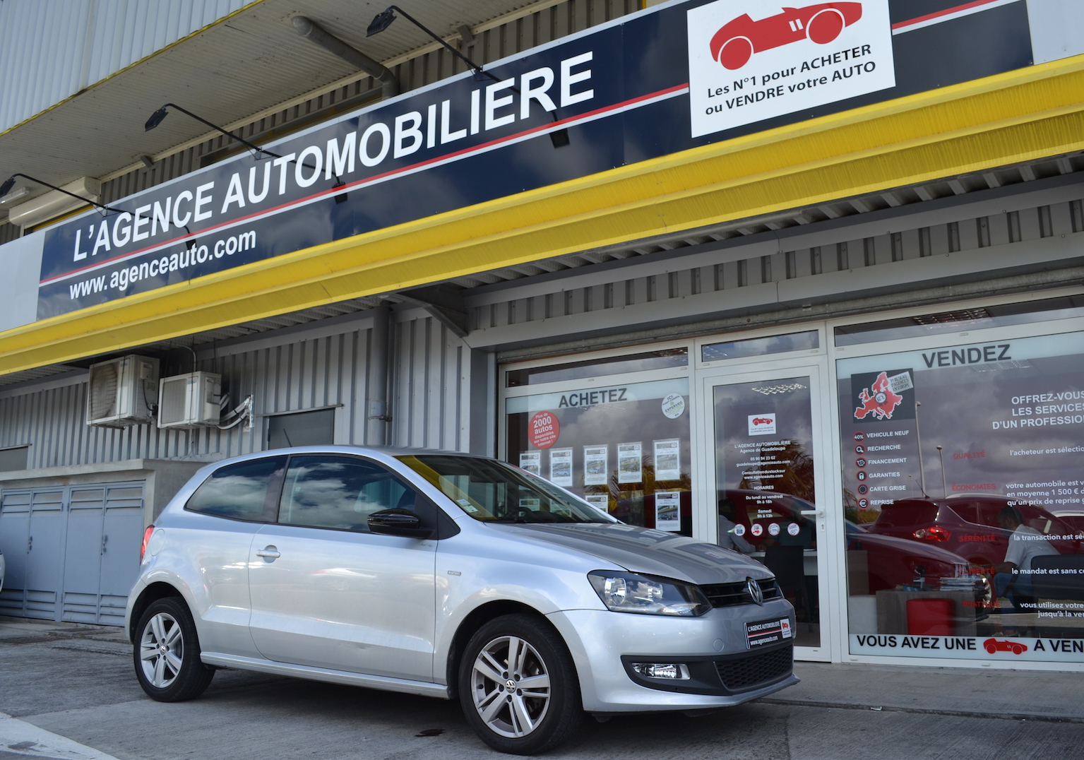 Volkswagen Polo 1.2 60 / Match occasion Guadeloupe