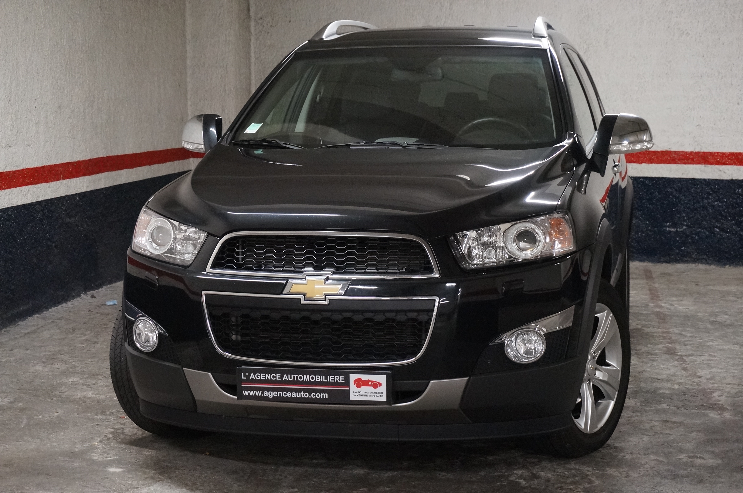 chevrolet captiva 2 2vcdi 163 lt s s 7 places occasion. Black Bedroom Furniture Sets. Home Design Ideas