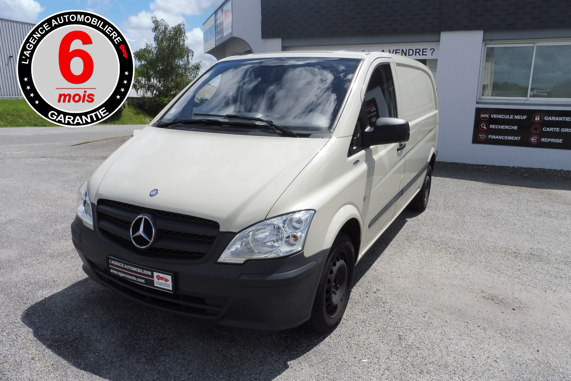 mercedes vito cdi 113 fourgon court compact 136cv occasion lorient pas cher voiture occasion. Black Bedroom Furniture Sets. Home Design Ideas