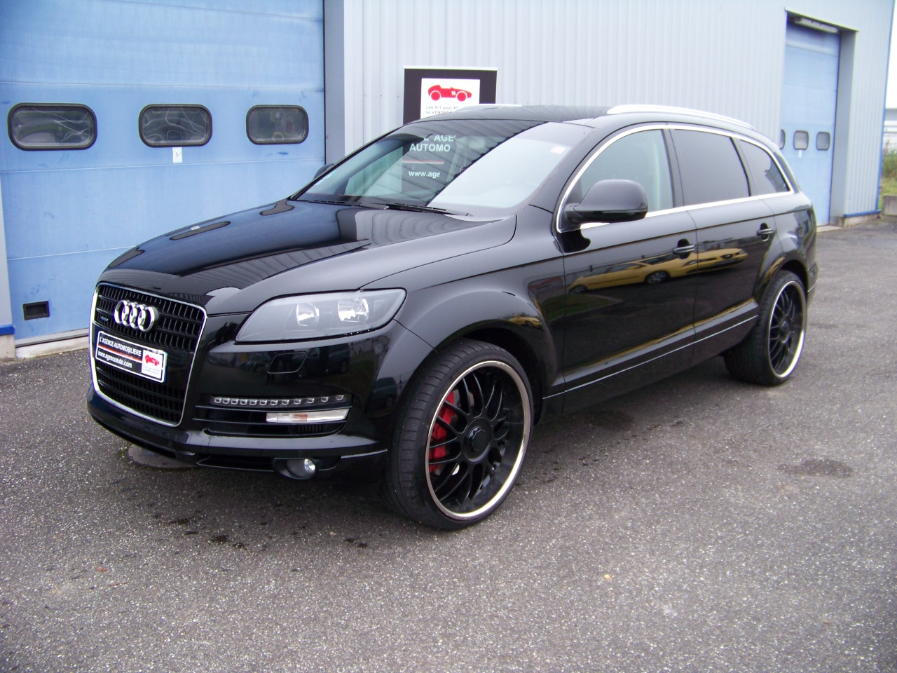 audi q7 3 0l v6 tdi quattro tiptronic t l dvd jantes 23 occasion strasbourg pas cher. Black Bedroom Furniture Sets. Home Design Ideas