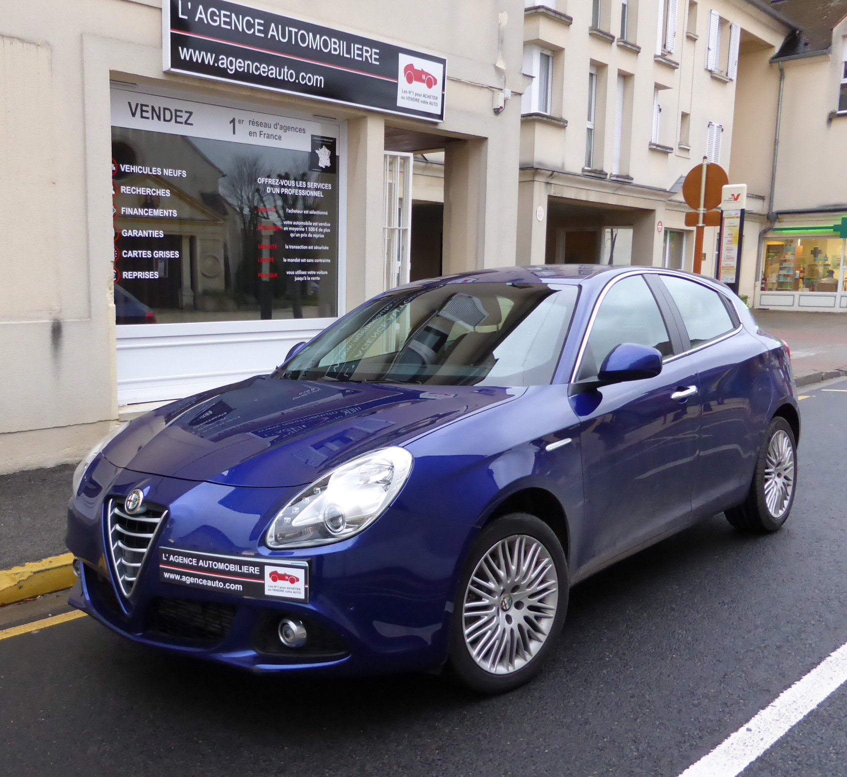 Alfa Romeo Giulietta 1.4 Multi Air 170 Distinctive