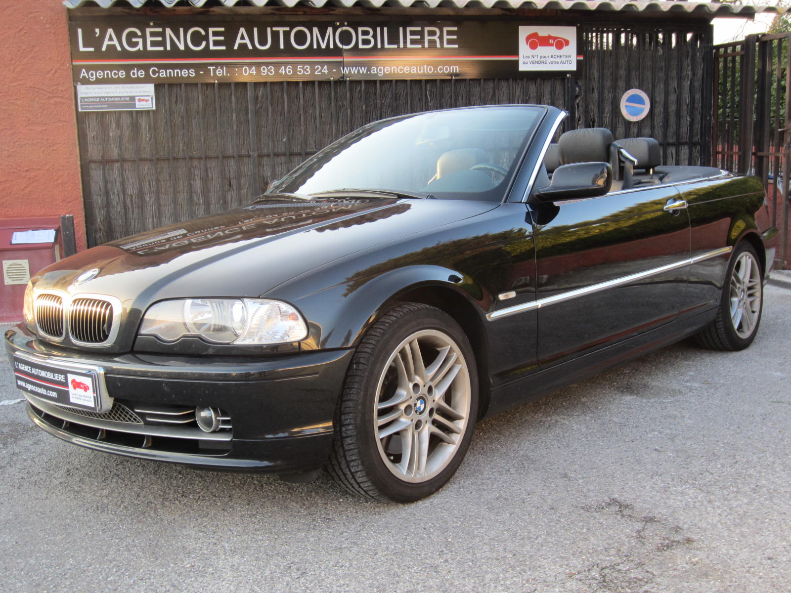 bmw serie 3 330 ci e46 cabriolet occasion cannes pas cher voiture occasion alpes maritimes. Black Bedroom Furniture Sets. Home Design Ideas